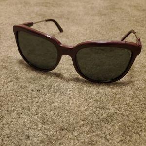 Purple Burberry Sunglasses
